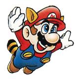 Pegatina de Mario Mapache SSBB