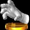 Trofeo de Master Hand SSB4 (3DS)
