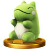Trofeo de Muñeco Sustituto SSB4 (Wii U)