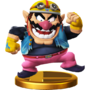 Trofeo de Wario SSB4 (Wii U)