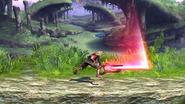 Ataque dorsal (2) SSB4 (Wii U)