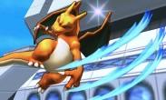 Charizard atacando en Torre Prisma SSB4 (3DS)
