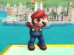 Pose de espera 2 (3) Mario SSBB