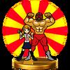 Trofeo de Luchador y Periodista SSB4 (Wii U)