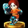 Trofeo de Tirador Mii SSB4 (Wii U)