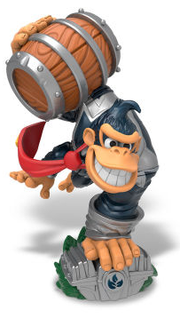 Amiibo Skylander Dark Turbo Charge Donkey Kong