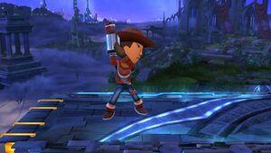 Burla 2 Tirador Mii SSB4 Wii U