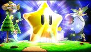 Hiperestrella en su tamaño máximo SSB4 (Wii U)