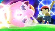 Jigglypuff y Ness en Mario Galaxy SSB4 (Wii U)