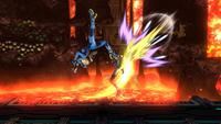 Lanzamiento superior de Samus Zero SSB4 (Wii U)
