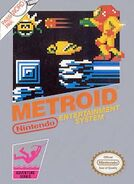 Metroid Carátula NTSC