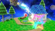 Movimiento especial hacia arriba de Estela SSB4 (Wii U)
