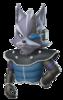 Pegatina Wolf Star Fox Command SSBB