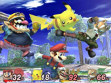 Lista de elementos beta de Super Smash Bros. Brawl