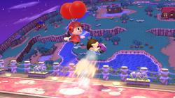 Supercasco de globos (2) SSB4 (Wii U)