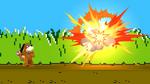 Tiro violento (2) SSB4 (Wii U)