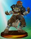 Trofeo de Ganondorf (Smash 1) SSBM