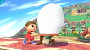 Agarre del Aldeano SSB4 (Wii U)