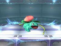 Ataque Smash inferior Ivysaur SSBB