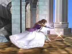 Ataque rápido Zelda SSBB