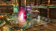 FG II - Graham cargando su rayo difusor SSB4 (Wii U)