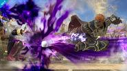 Ganondorf usando Patada del hechicero contra Daraen SSB4 (Wii U)