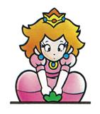 Pegatina Peach (Super Maro Bros. 2) SSBB