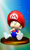 Trofeo de Bebé Mario SSBM