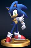 Trofeo de Sonic SSBB
