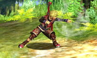 Ataque normal Shulk (1) SSB4 (3DS)