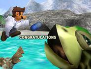 Créditos Modo Clásico Dr. Mario SSBM
