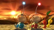 Créditos Modo Senda del guerrero Olimar SSB4 (Wii U)