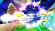 Destello haciendo un ataque giratorio SSB4 (Wii U)