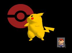Pose de victoria Pikachu Y (1) SSBM