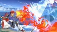 Roy y la Entrenadora de Wii Fit en La cúspide SSBU