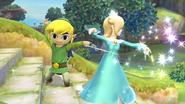 Una burla de Estela SSB4 (Wii U)