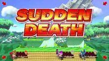 Una muerte subita en super smash bros