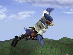 Ataque Aéreo Normal Falco SSBB (1)