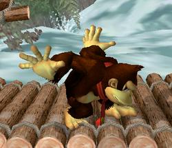 Ataque Smash lateral de Donkey Kong (1) SSBM
