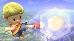 Ataque aereo hacia adelante Lucas SSBB
