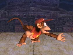 Ataque normal Diddy Kong SSBB (2)