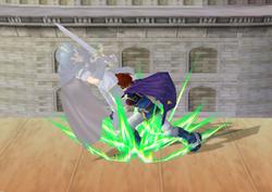 Lanzamiento hacia abajo de Roy (2) SSBM