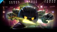 Meta Knight con el Smash Final SSB4 (Wii U)