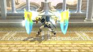 Orbitales escudo Pit Sombrío (1) SSB4 (Wii U)