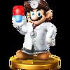 Trofeo de Dr. Mario SSB4 (Wii U)