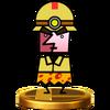 Trofeo de Roc Sílex SSB4 (Wii U)