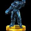 Trofeo de Samus Oscura SSB4 (Wii U)