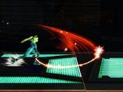 Ataque Smash Lateral Samus Zero SSBB