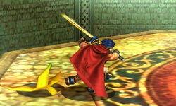 Ataque de recuperación tras tropiezo Ike (1) SSB4 (3DS)
