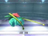 Ataque fuerte inferior Ivysaur SSBB